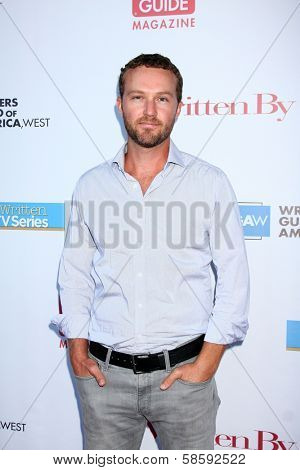 Devon Gummersall at the WGA's 101 Best Written Series Announcement, Writers Guild of America Theater, Beverly Hills, CA 06-02-13