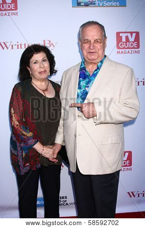 Winnie Holzman and Paul Dooley at the WGA's 101 Best Written Series Announcement, Writers Guild of America Theater, Beverly Hills, CA 06-02-13