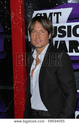 Keith Urban at the 2013 CMT Music Awards, Bridgestone Arena, Nashville, TN 06-05-13