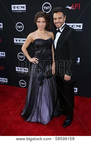Eugenio Derbez and Alessandra Rosaldo at the AFI Life Achievement Award