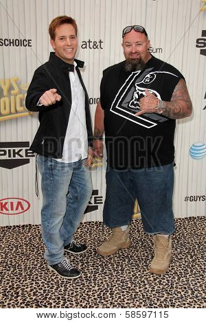 Allen Haff and Clinton Jones at the 2013 Spike TV Guys Choice Awards, Sony Studios, Culver City, CA 06-08-13