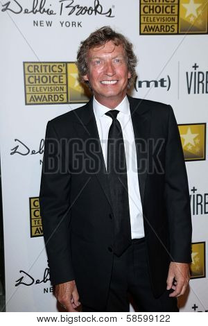 Nigel Lythgoe at the 3rd Annual Critics' Choice Television Awards, Beverly Hilton Hotel, Beverly Hills, CA 06-10-13