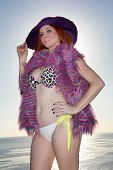 Phoebe Price Bikini Shoot, Private Location, Los Angeles, CA 02-18-13