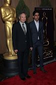 Ang Lee and Suraj Sharma at the 85th Academy Awards Nominations Luncheon, Beverly Hilton, Beverly Hi