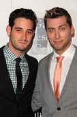 Michael Turchin, Lance Bass at the L.A. Gay And Lesbian Center Hosts 'An Evening' honoring Amy Pasca