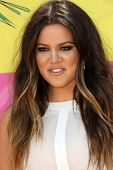 Khloe Kardashian at Nickelodeon's 26th Annual Kids' Choice Awards, USC Galen Center, Los Angeles, CA