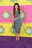 Miranda Cosgrove at Nickelodeon's 26th Annual Kids' Choice Awards, USC Galen Center, Los Angeles, CA