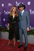 Faith Hill, Tim McGraw at the 48th Annual Academy Of Country Music Awards Arrivals, MGM Grand Garden
