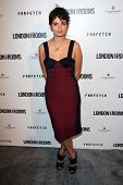 Pixie Geldof at the British Fashion Council's