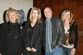 LOS ANGELES - APRIL 24: Barbara Davis, Nancy Davis with family at the Brandon Davis and Replay celeb