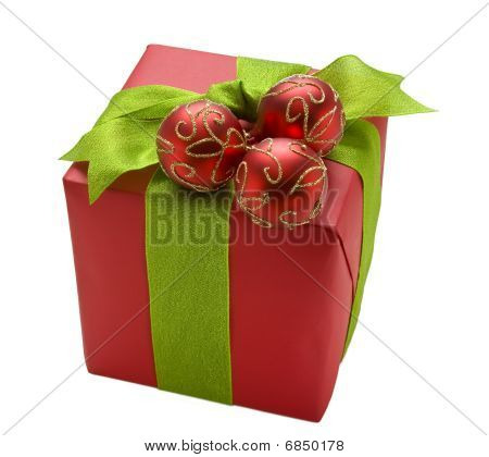 Red Christmas Giftbox