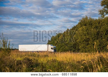 Truck On The Country Road