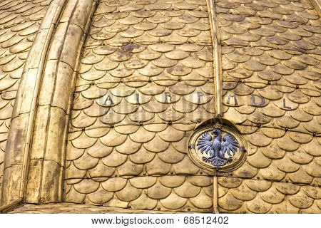 Fragment Of Wawel Cathedral. Royal Archcathedral Basilica Of Saints Stanislaus And Wenceslaus On The