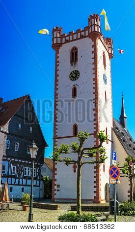 Memorial Church St. Johann Baptist in Hanau-Steinheim, Germany