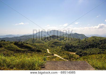 Mountain View At Thong Pha Phum National Park