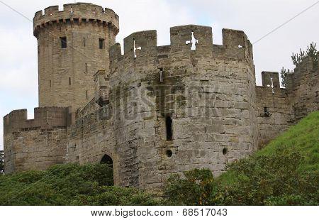 poster of Warwick Castle, Warwickshire, England