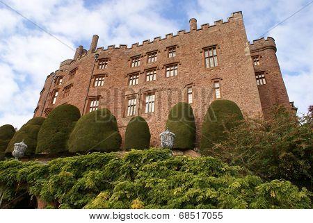 Powis castle, Welshpool, Wales, England