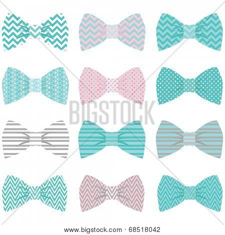 Bow pattern - Illustration