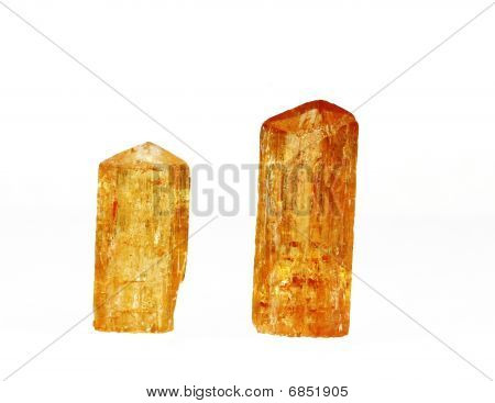 Imperial Topaz Crystals 1