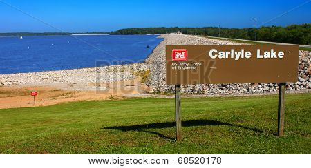 Carlyle Lake In Illinois