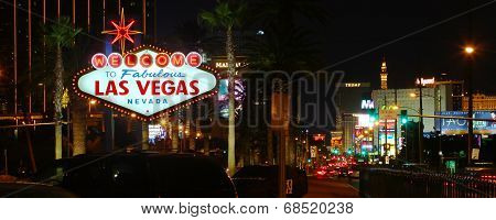 Welcome To Las Vegas Strip