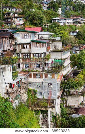 Village Banaue, Ifugao Province Philippines