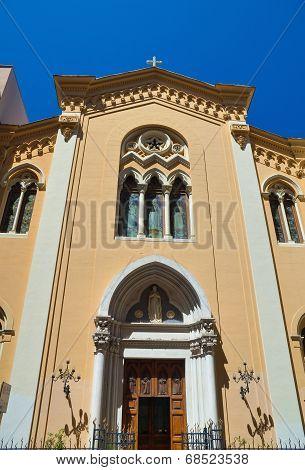 Church of Immacolata. Bari. Puglia. Italy.