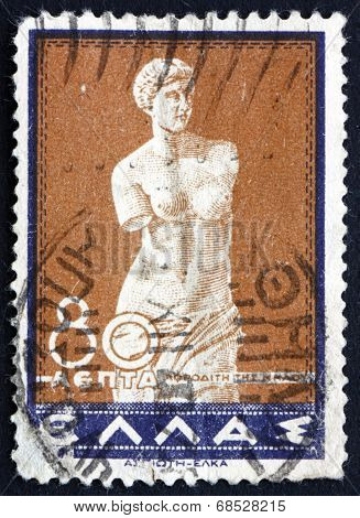 Postage Stamp Greece 1937 Venus Of Melos