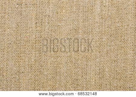 macro shot of a beige linen texture