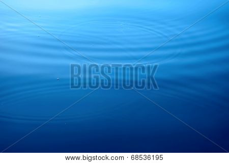 Circles On A Water Surface