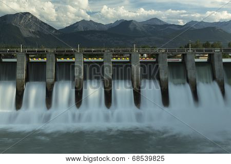 Kananaskis Hydro Electric Dam M2
