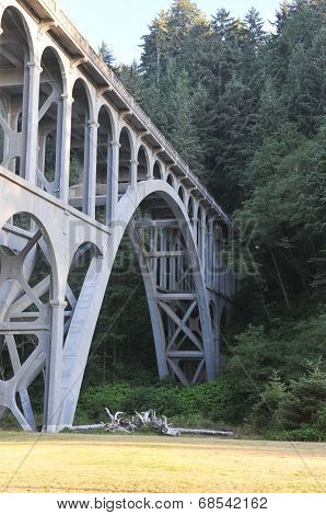 Heceta Head Lighthouse Bridge
