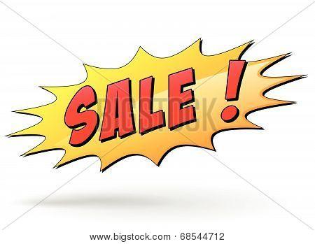 Vector Sale Starburst