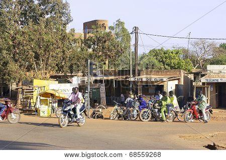 Traffic In Ouagadougou