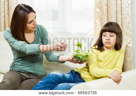 I don`t like vegetables!