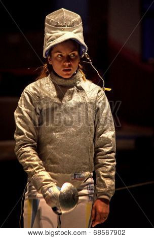 Sabre Fencer Galyna Pundyk Of Ukraine