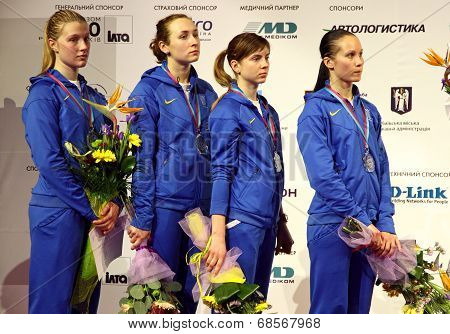 Ukraine National Sabre Team