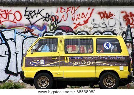 Old Volkswagen minibus