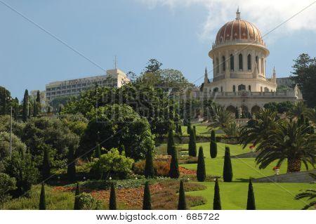 Bahai Tempel & Gärten