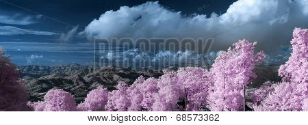 Blue Ridge Mountains Infrared