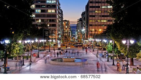 Athens Greece, Cityscape