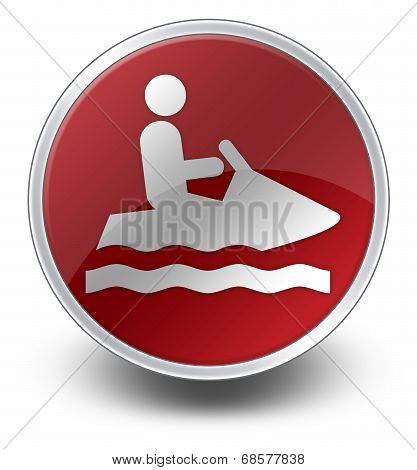 Icon, Button, Pictogram Personal Watercraft