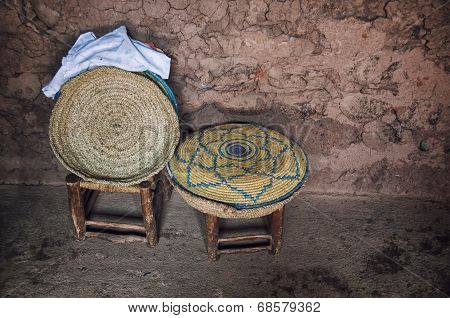 Interior of a typical berber house
