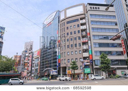 Kobe Sannomiya city centre Japan