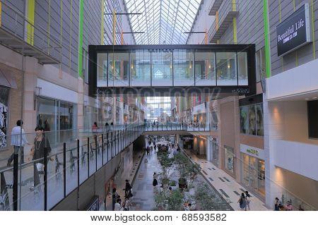 Umie Shopping mall in Haborland Kobe