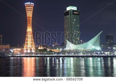 Kobe Harbour night view