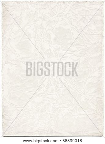 Antique white paper photograph cover background