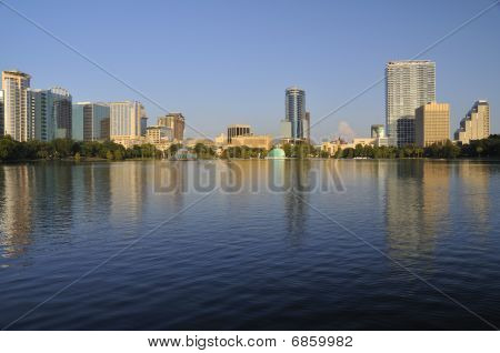 Downtown Orlando Skyline