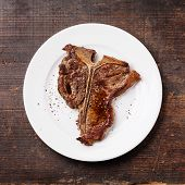 foto of t-bone steak  - Grilled T - JPG