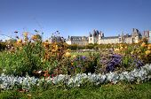 foto of chateau  - View of the Chateau de Fontainebleau and its huge park - JPG